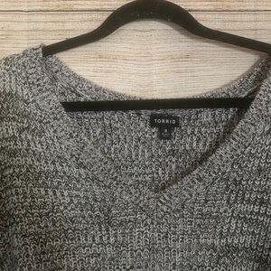 torrid Sweaters - Plus Size Gray Torrid Sweater